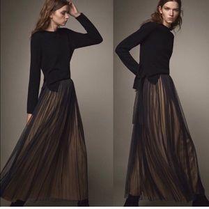 Massimo Dutti full length skirt